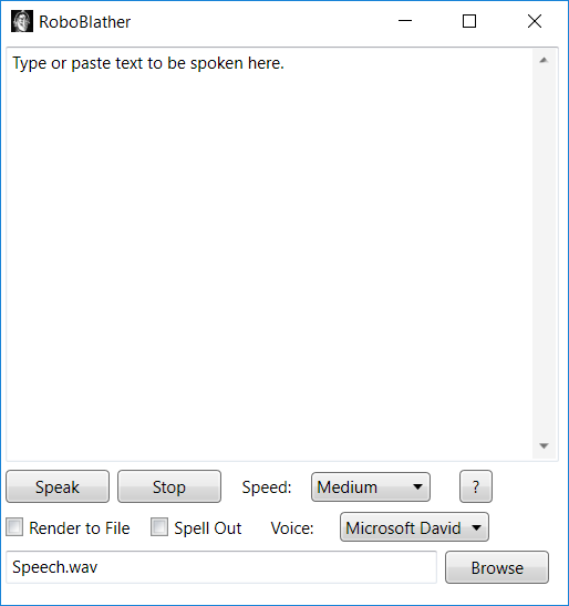 .NET 3.0 Text-to-speech application.