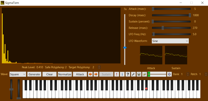 A Virtual Additive Synthesizer Instrument